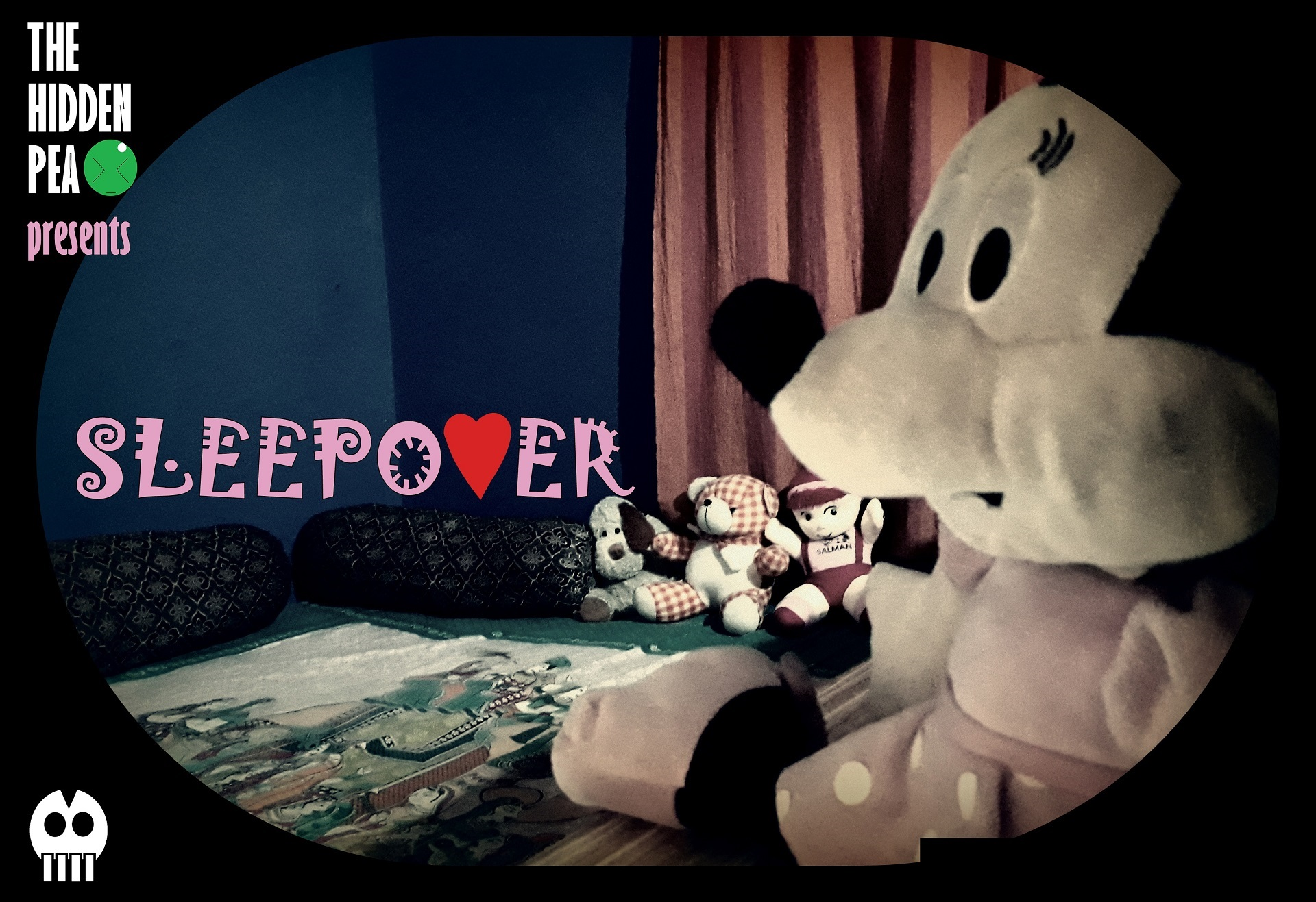 Sleepover short film poster